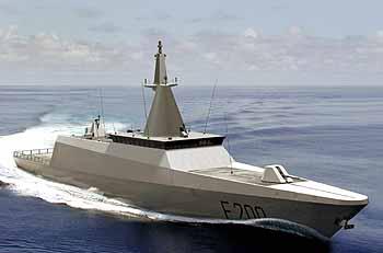 Marineforum GOWIND F-200 (Grafik: DCNS)