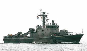 Marineforum - finnische KOTKA nach Kroatien (Foto: F.Findler)