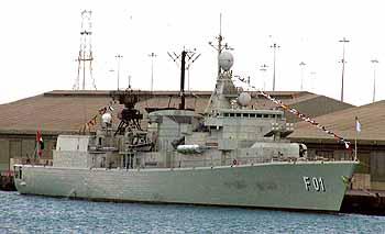 Marineforum Fregatte ABU DHABI (Foto: FlottenKdo)