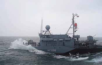 Marineforum - MJ 333 PASSAU (Foto: Flottenkdo)