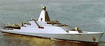 Marineforum - erste Grafik des neuen OPV (Grafik: Niederl. Marine)