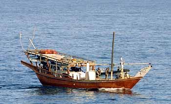 Marineforum - Dhau vor der Küste Somalias (Foto: dt. Marine)
