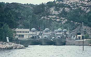 Marineforum - norwegischer S-Boot-Stützpunkt (Foto: Archiv Frank)