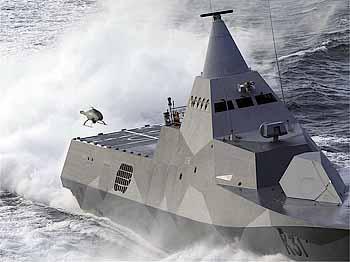 Marineforum - im Landeanflug (Foto: Saab)