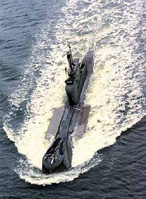 Marineforum U-Boot Klasse 206A mit Minengürtel