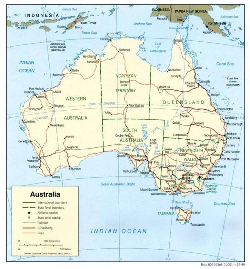 erste siedler in australien