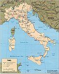 Karte Italien Map Italy