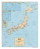 Karte Japan Map