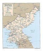 Karte Nordkorea