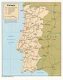 Karte Portugal Map