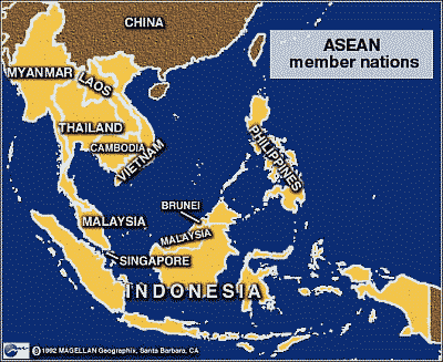 Asien — ASEAN — Malaysische Inselwelt