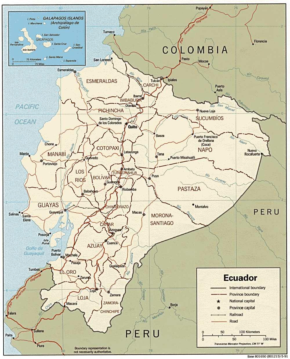 Lateinamerika — Ecuador