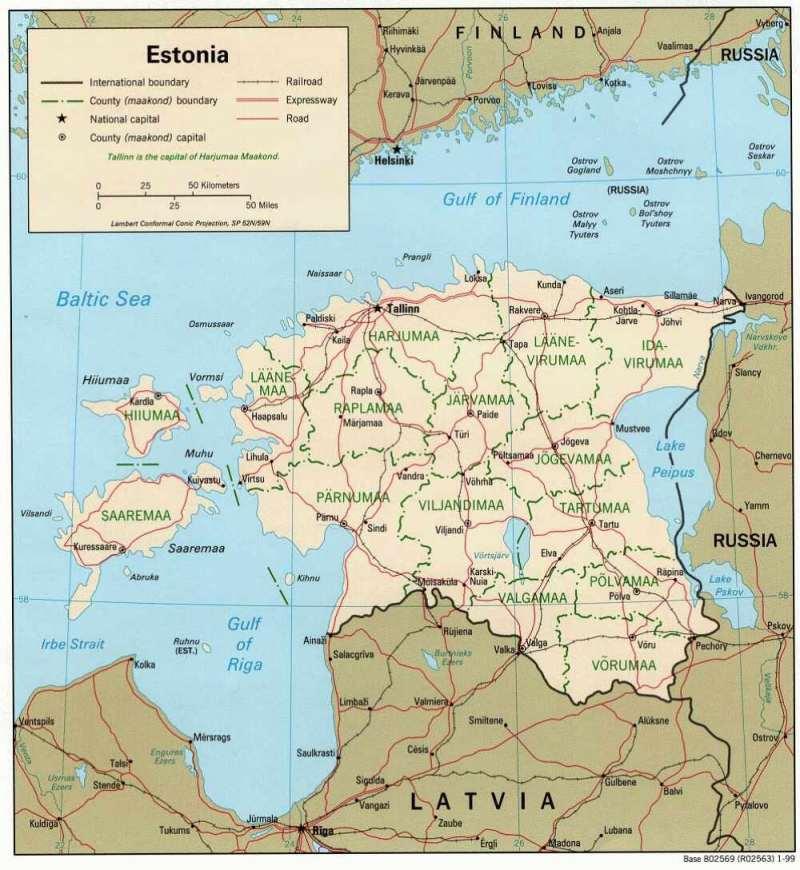 Westeuropa — Estland