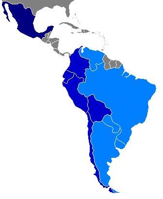 MERCOSUR — Mercado Comun del Sur — Gemeinsamer Markt des Südens