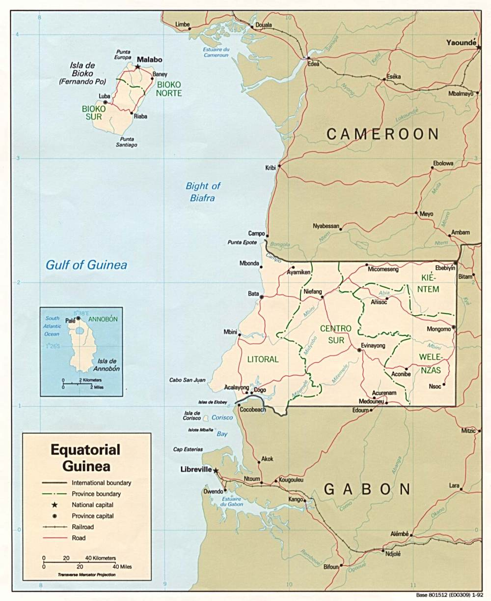Bantu-Afrika: Äquatorial-Guinea