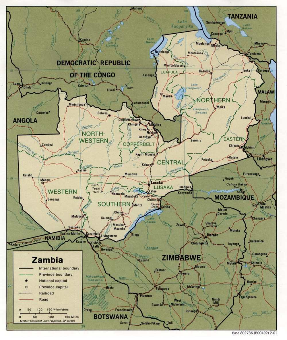 Bantu-Afrika: Sambia (Zambia)