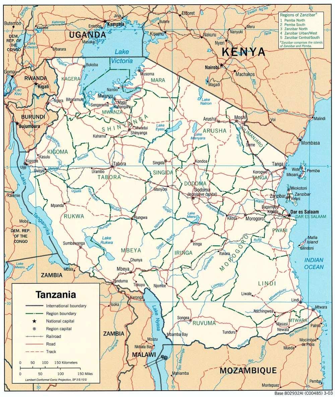 Bantu-Afrika: Tansania (Tanzania)