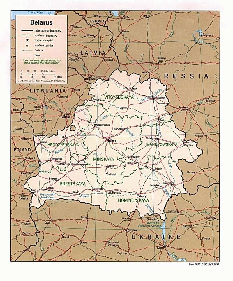 Osteuropa — Weißrussland