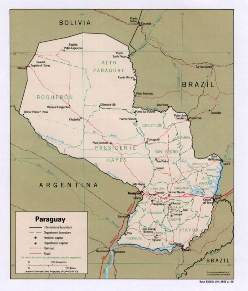 Lateinamerika — Paraguay