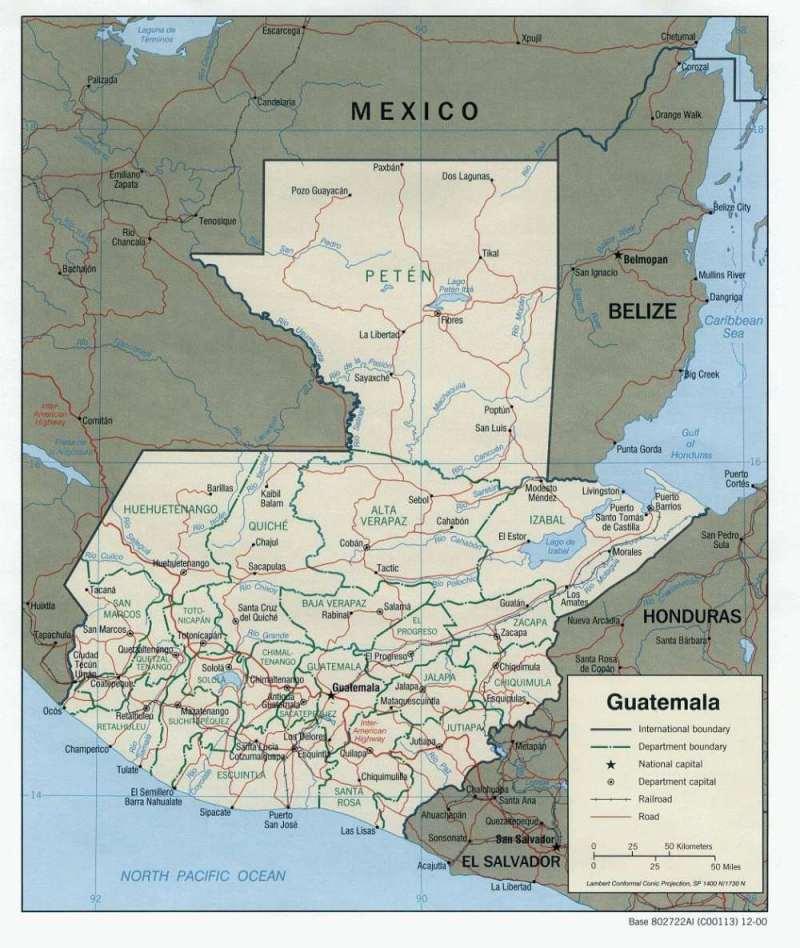 Lateinamerika — Guatemala