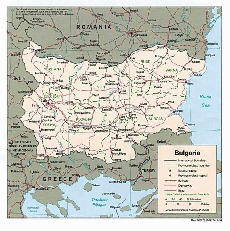 Westeuropa — Bulgarien