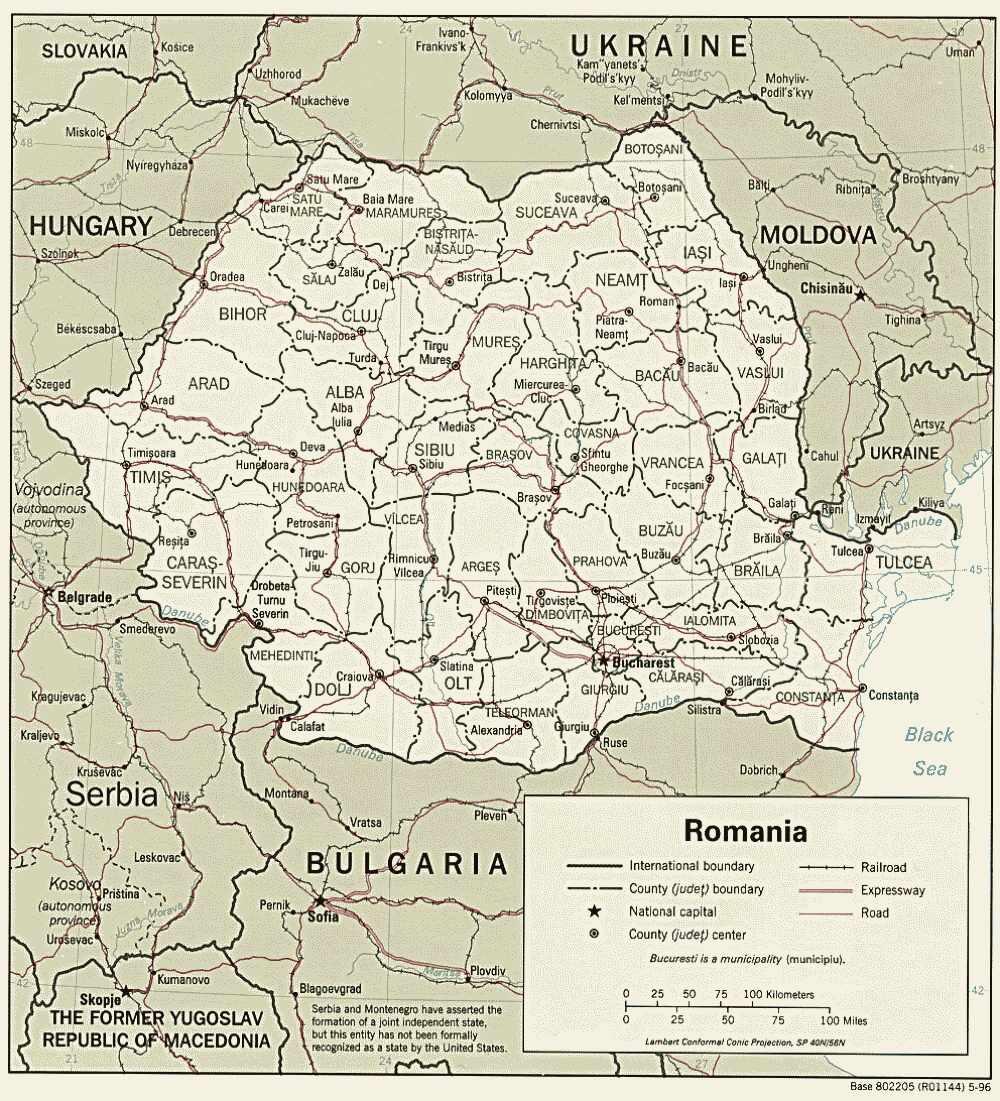 Westeuropa — Rumänien