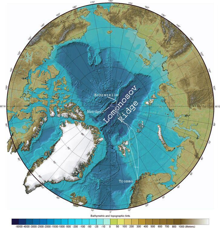 """Arktis — das """"Mittelmeer"""" des nächsten Jahrhunderts"""