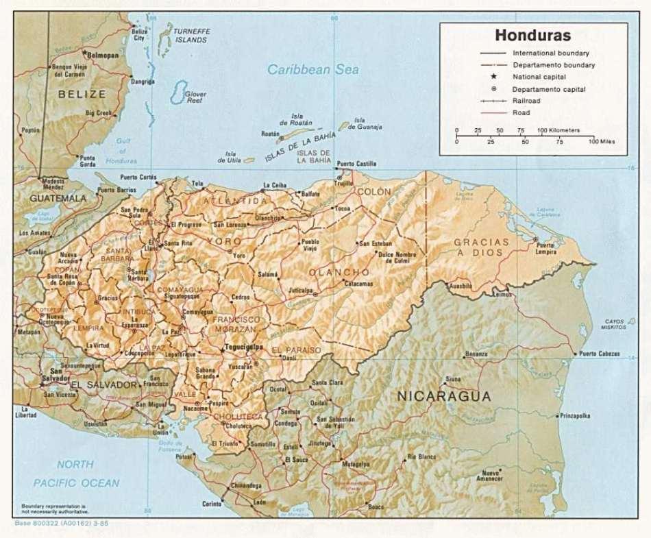 Lateinamerika — Honduras