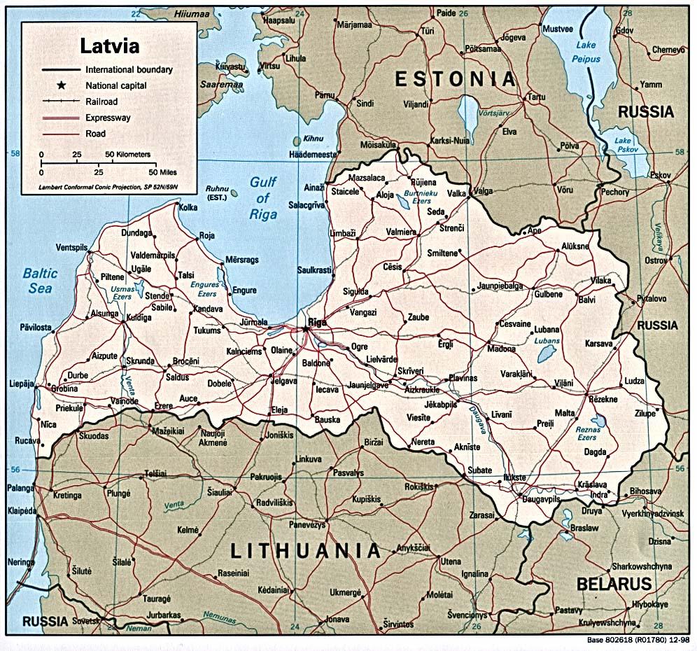Westeuropa — Lettland