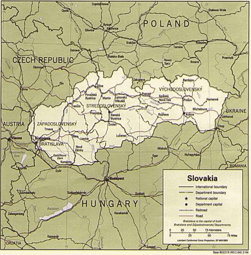 Westeuropa — Slowakische Republik (Slowakei)