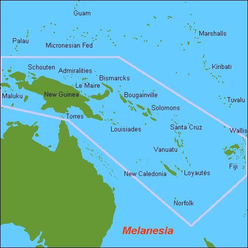 Ozeanien — Melanesien und Mikronesien, von Palau bis Kiribati und Samoa