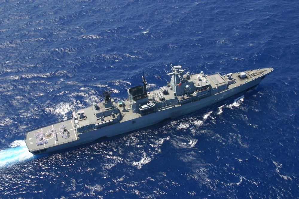 """Deutschland — Fregatte """"Schleswig-Holstein"""" beteiligt sich an Anti-Piraterie-Mission """"Atalanta"""""""
