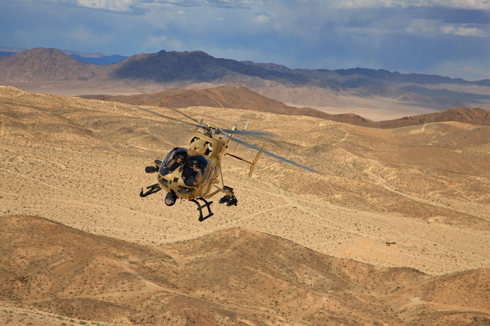 USA — EADS North America to build three Armed Aerial Scout 72X Technology Demonstration Aircraft