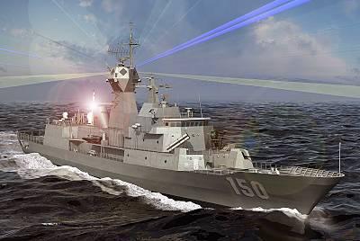 Marineforum - Computergrafik illustriert den ANZAC-Upgrade (Grafik: austr. Marine)