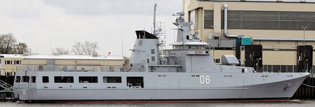 Marineforum - Neues OPV für Brunei (Foto: Michael Nitz)