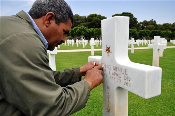Afrika — Carthage Cemetery Honors World War II Fallen