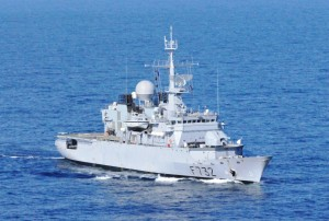 EU NAVFOR French warship Nivôse