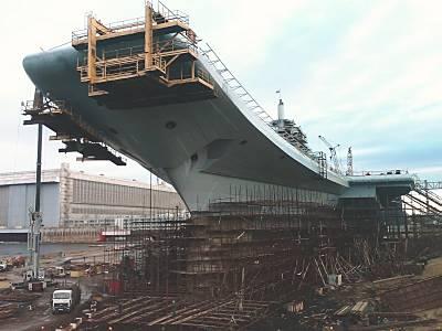 Marineforum - Umbau der GORSHKOV bei Sevmash (Foto: Sevmash)