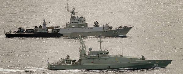 Marineforum - Gemeinsame Patrouille (Foto: austr. Marine)