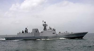 Marineforum - Eines der wenigen Fotos der SHIVALIK (Foto: offiziell)