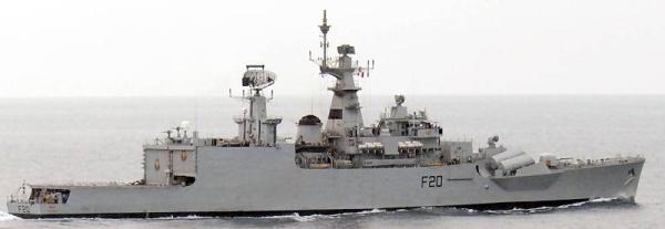 Marineforum - Indische Fregatte GODAVARI (Foto: US Navy)