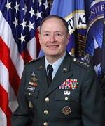 US Army General Keith B. Alexander is head of U.S. Cyber Command