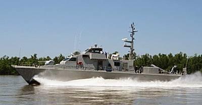 Marineforum - P-301 bei Erprobung (Foto: Swiftships)