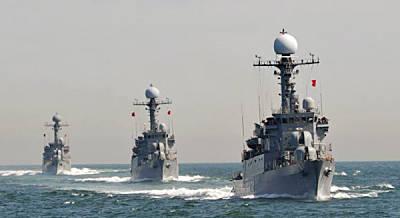 Marineforum - Manöver im Gelben Meer (Foto: offz.)