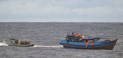 Marineforum - Asylantenboot (Foto: austr. Marine)
