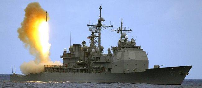 Marineforum - SHILOH bei Raketenabwehrtest (Foto: US Navy)
