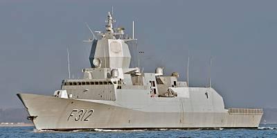 Marineforum - norwegische Fregatte OTTO SVERDRUP (Foto: Michael Nitz)