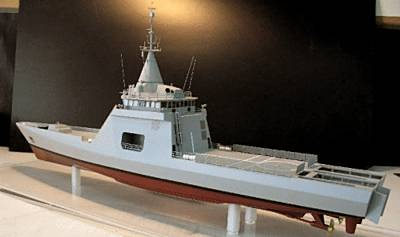Marineforum - GOWIND-170 HERMES (Modell: DCNS)