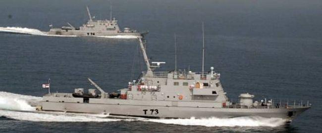 Marineforum - Die zwei Neubauten (Foto: GRSE / ind. Marine)