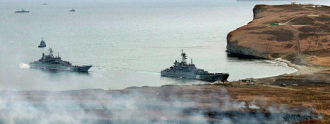 Marineforum - Eines der offiziellen Fotos zu Vostok-2010 (Foto: rus. VtdgMin)